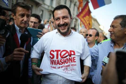 Depuis l'élection de Matteo Salvini à la tête de la Ligue du Nord, en décembre 2013, le parti progresse sur l'échiquier politique italien.