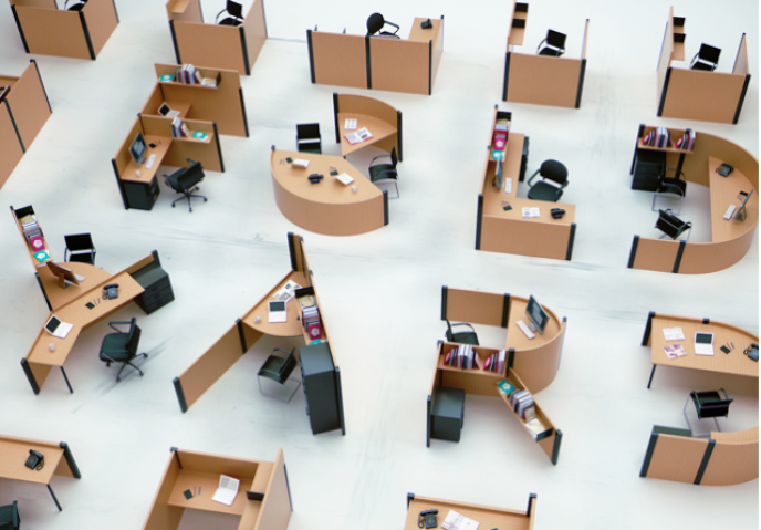 Cinq bureaux pour vous faire aimer les open space