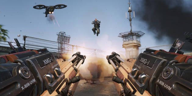 """Advanced Warfare"" fait la part belle aux sauts."