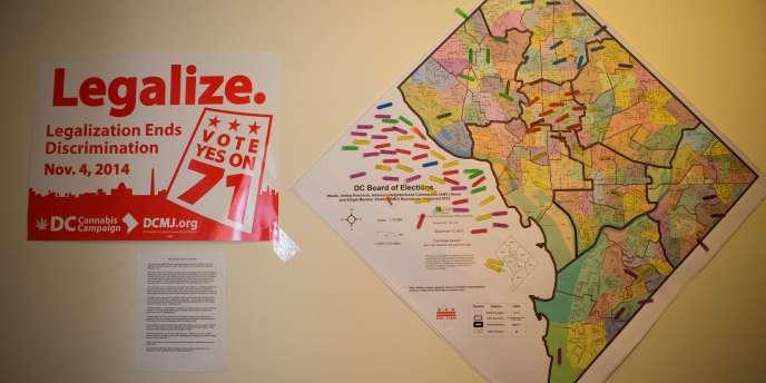 A Washington DC, l'initiative 71 est sortie victorieuse.
