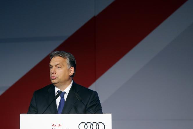 Le premier ministre hongrois, Viktor Orban, le 5 novembre à Gyor, à l'ouest de Budapest.