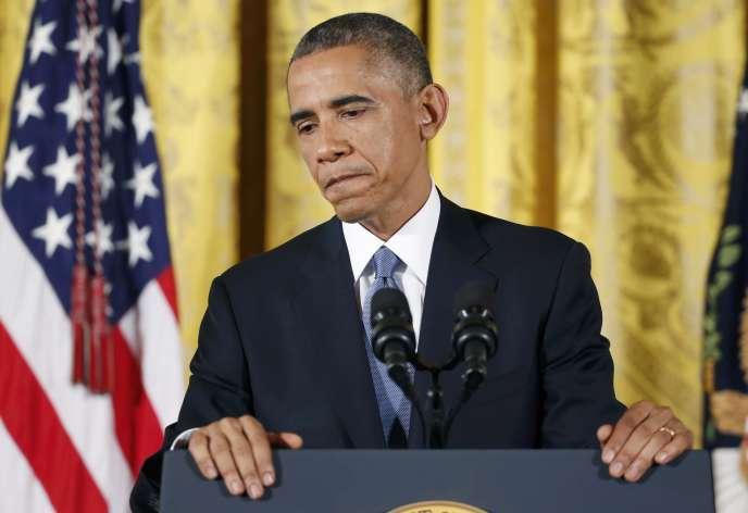 Le président américain a reconnu que la soirée électorale de mardi avait été bonne pour les républicains et qu'il avait entendu le message envoyé par les électeurs.