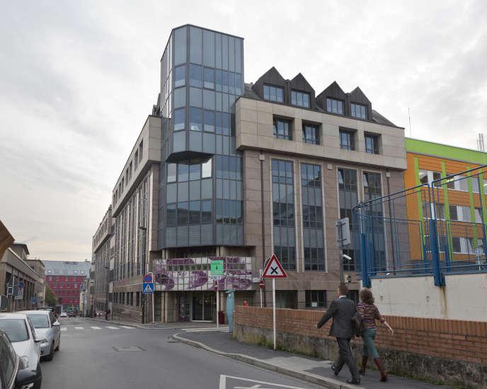 Bâtiment de l'administration fiscale du Luxembourg.
