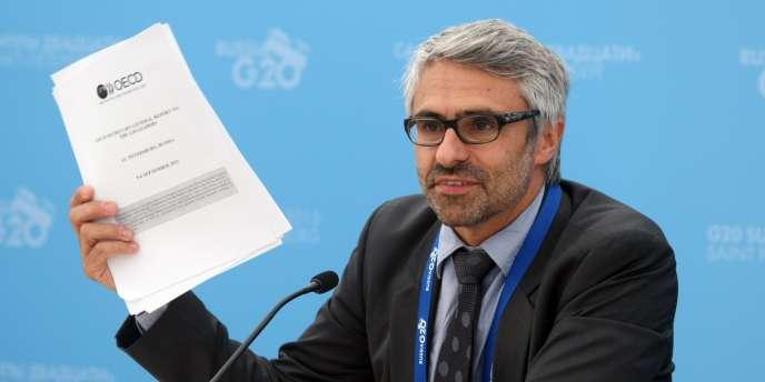 Pascal Saint-Amans,  le directeur du centre de politique et d'administration fiscales de l'OCDE.