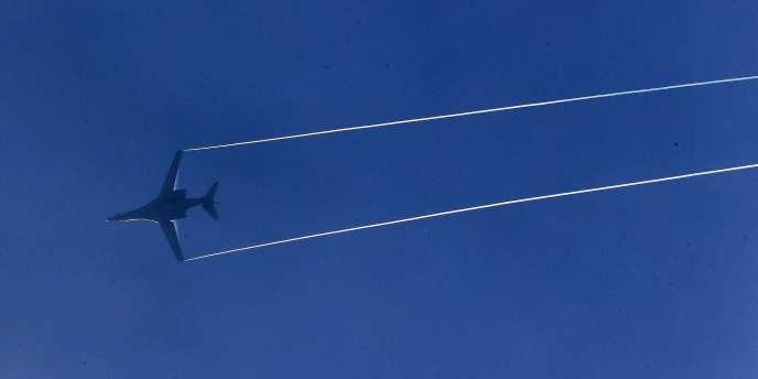 Un bombardier américain B-1 au-dessus de la Syrie, le 26 octobre.