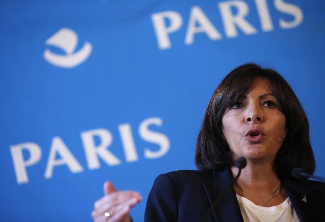 Anne Hidalgo, maire de Paris, en novembre 2014.