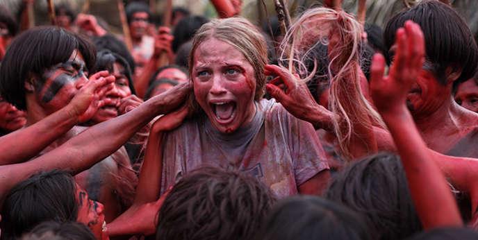 Une scène du film d'horreur d'Eli Roth,