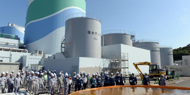 La centrale nucléaire de Sendai, dans le sud du Japon, en septembre 2013.