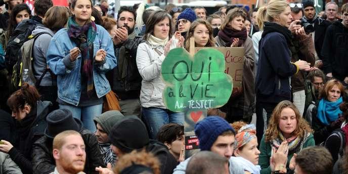 Samedi 8 novembre à Toulouse.