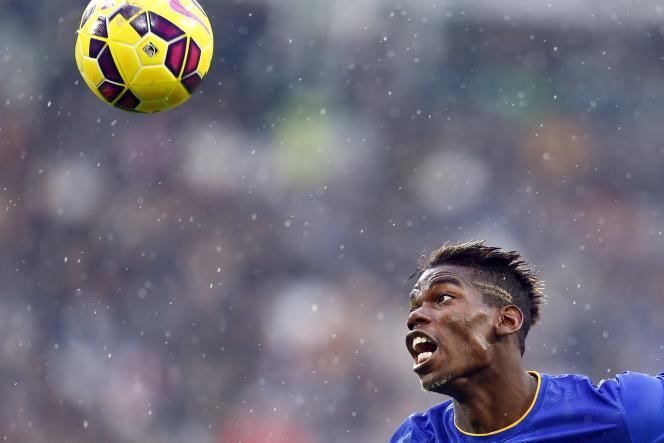 Paul Pogba, sous les couleurs de la Juventus de Turin, le9novembre.
