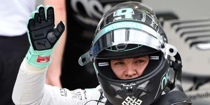 Le pilote Mercedes Nico Rosberg, le 8 novembre sur le circuit d'Interlagos, au Brésil.