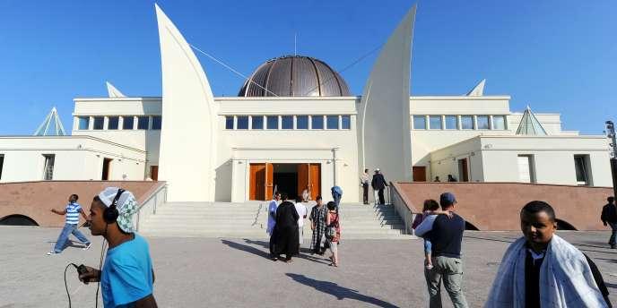 La Grande Mosquée de Strasbourg, le 1er août 2011.