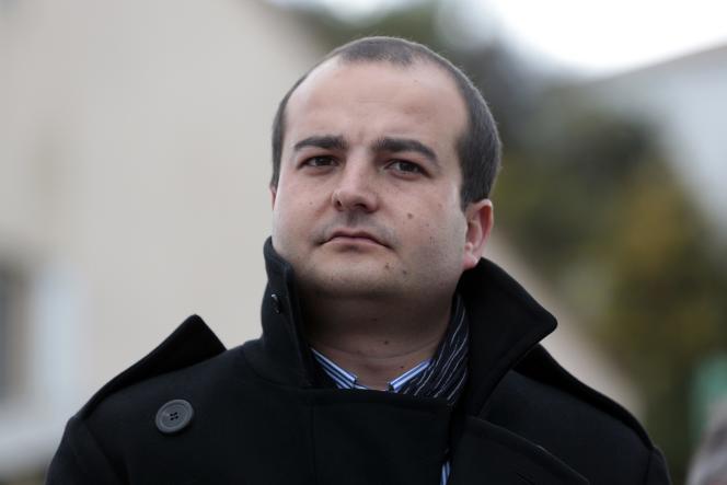 David Rachline, maire de Fréjus et sénateur du Var, le 25 mars 2014.