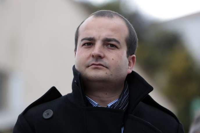 David Rachline, maire de Fréjus, en mars 2014.