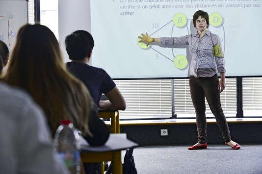 Un cours à Toulouse Business School. L'école de commerce se classe treizième au palmarès de «L'Etudiant» 2018.