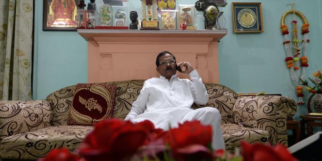 Shripad Yesso Naik a été nommé ministre chargé des médecines et pratiques traditionnelles en Inde, dimanche 9 novembre.