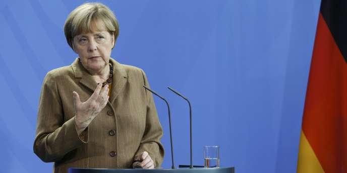 Angela Merkel, le 11 novembre 2014 à Berlin.