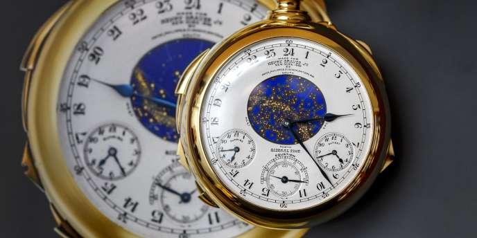 Créée par Patek Philippe en 1933, et estimée avant la vente à plus de 15 millions de dollars, cette montre légendaire fut longtemps la montre la plus complexe au monde.