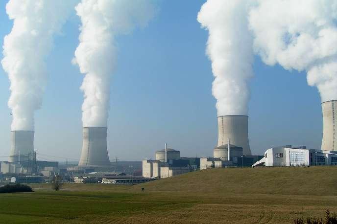 La centrale nucléaire de Cattenom (Moselle).