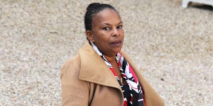 La ministre de la justice, Christiane Taubira, le 12 novembre.