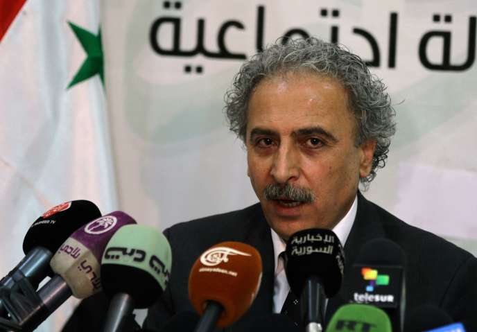 Louay Hussein à Damas, en juillet 2012.