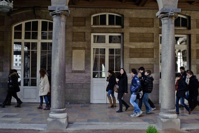 Au lycée du Parc à Lyon, qui propose de nombreuses classes préparatoires.