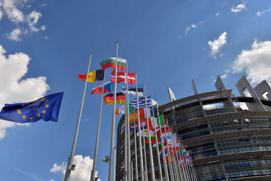 Le siège du Parlement européen à Strasbourg, en France.