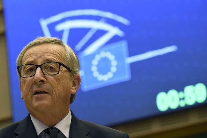 Le president de la Commission européenne Jean-Claude Juncker, ministre des finances puis premier ministre du Grand Duché du Luxembourg, le 12 novembre 2014.