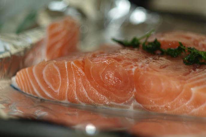 Les ventes de saumon en France affichaient sur en octobre une baisse de 12,8% sur un an en volume.