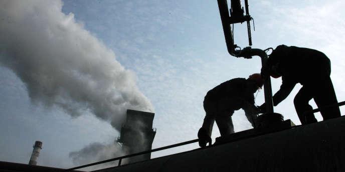 Les émissions de CO2 chinoises sont liées en grande partie au charbon.
