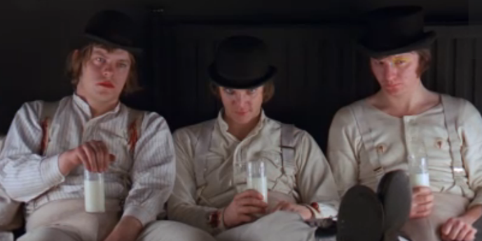 Warren Clarke, à gauche, dans le film