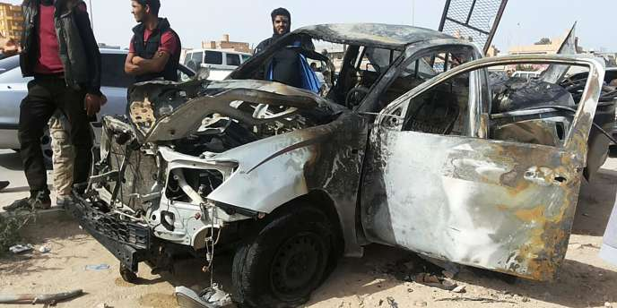 Un attentat à la voiture piégée a eu lieu non loin de l'hôtel où siège le Parlement libyen, à Tobrouk.