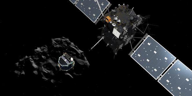 Philae et Rosetta se sont séparés mercredi 12 novembre, peu après 10 heures.