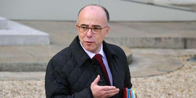 Le ministre de l'intérieur, Bernard Cazeneuve, à l'Elysée, le 12 novembre 2014.