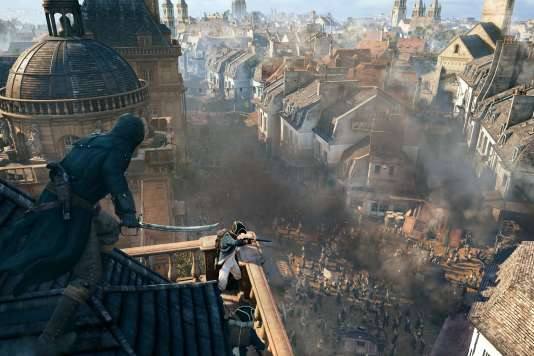 Le Paris d'Assassin's Creed Unity.