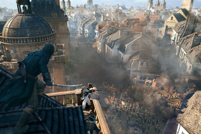 Le Paris d'Assassin's Creed Unity.