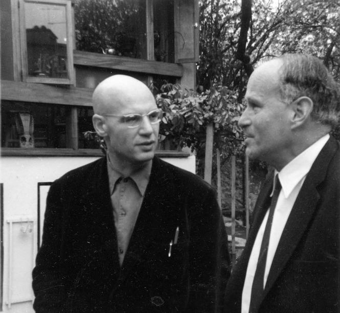 A Grothendieck avec Laurent Schwartz à l'Institut.