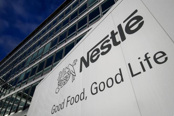Le siège de Neslté à Vevey en Suisse.