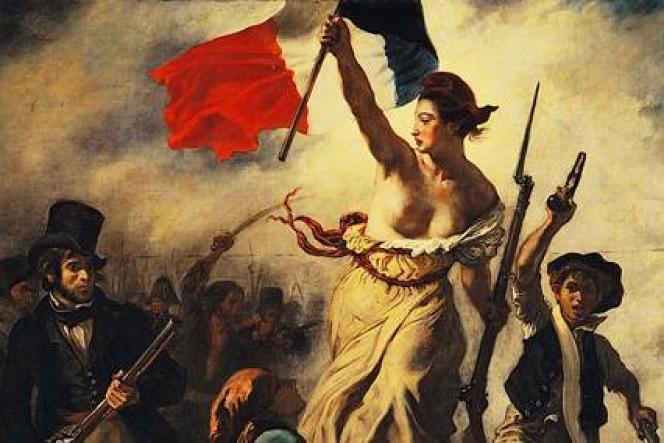 «La Liberté guidant le peuple», d'Eugène Delacroix, toile inspirée de la révolution dite «des Trois Glorieuses» (1830). «Assassin's Creed Unity» reprend l'imagerie populaire de l'histoire de France.