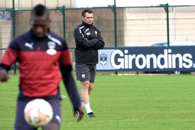 L'entraîneur des Girondins de Bordeaux, Willy Sagnol, le 4 novembre.