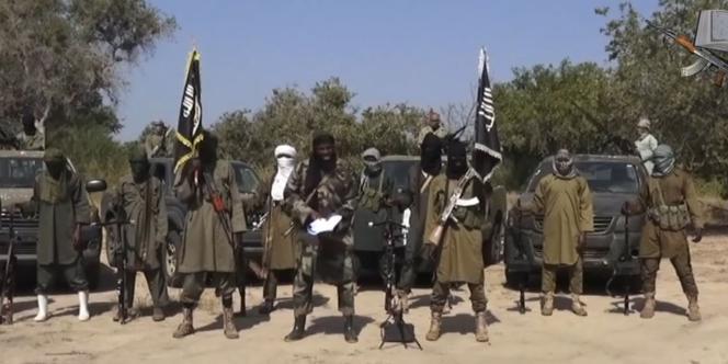 Des membres de la secte islamiste Boko Haram, le 31octobre2014.