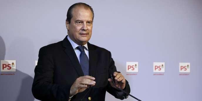 Jean-Christophe Cambadélis, premier secrétaire du PS, le 23octobre.