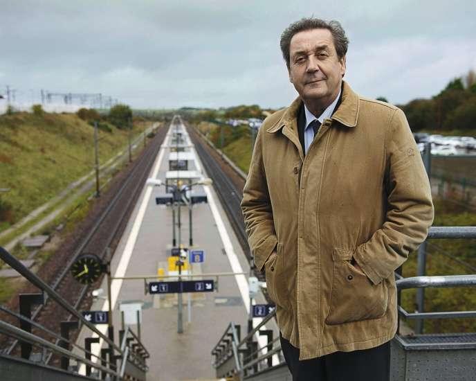 Avec son association Opale Link, Thaddée Segard espère développer un métro reliant Calais à Ashford en trente minutes.