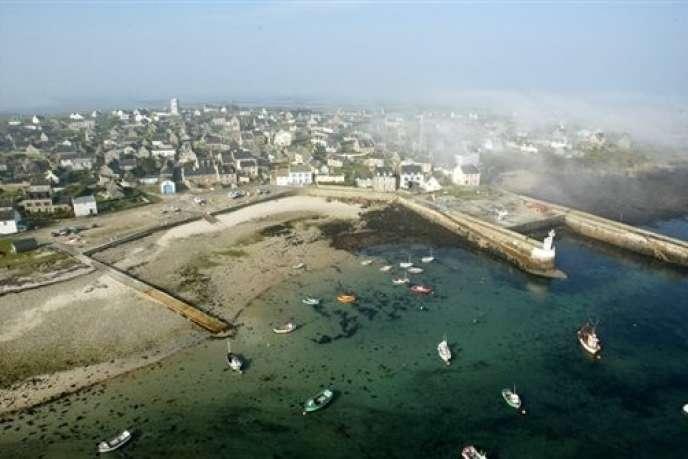 Le petit port de l'île de Molène, dans le parc naturel marin de la mer d'Iroise.