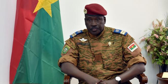 Le lieutenant-colonel Isaac Zida, homme fort du Burkina Faso depuis la chute du président Blaise Compaoré.