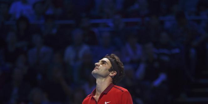 Roger Federer, le 15 novembre à Londres.