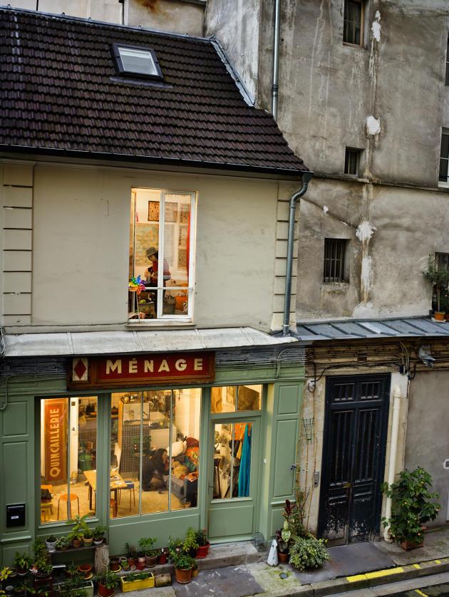 Passage du Désir, Paris 10e.