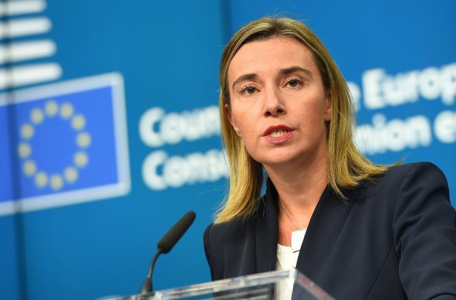 Federica Mogherini le 17 novembre.