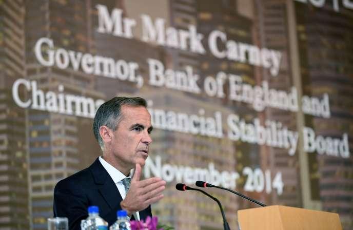 «Notre objectif est d'apporter la stabilité économique et financière, pas d'agir simplement pour agir», s'est défendu Mark Carney, gouverneur de la Banque d'Angleterre au mois de février.