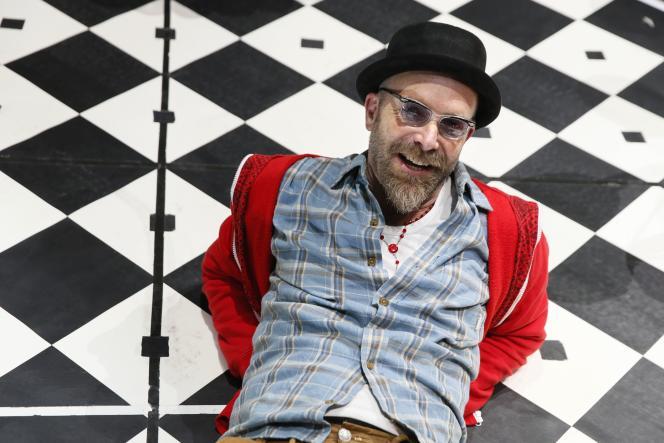 L'artiste sud-africain Brett Bailey à Montreuil-sous-Bois, le 17 novembre 2014.